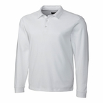 Cutter & Buck Mens Big & Tall L/S Pima Belfair Polo BCK00972