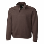 Cutter & Buck Mens Big & Tall L/S Pima Decatur Half Zip BCK00985