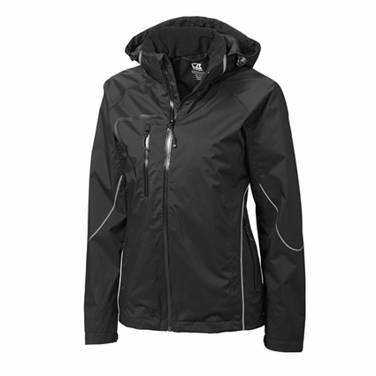 Cutter & Buck Women's Jacket: Glacier Full-Zip (LCO01201)