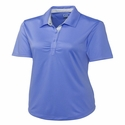 Cutter & Buck Women's Polo Shirt: 100% Polyester Alder Color (LCK02499)