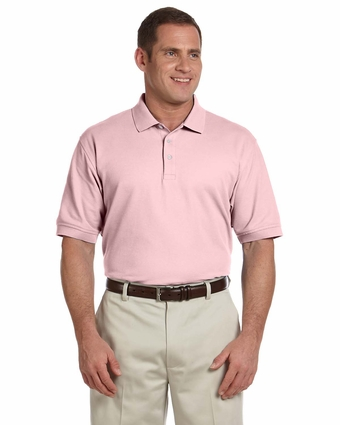 Devon & Jones Men's Polo Shirt: 100% Pima Cotton Pique Short-Sleeve (D100)