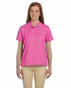 Devon & Jones Women's Polo Shirt: 100% Pima Cotton Pique Short-Sleeve (D112W)