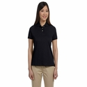Devon & Jones Women's Polo Shirt: 100% Pima Cotton Solid Perfect Interlock (D140SW)