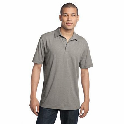 District Made Men's Polo Shirt: 100% Ring Spun Cotton Slub(DM350)