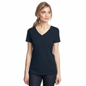 District Made Women's T-Shirt: Perfect Weight V-Neck(DM1170L)