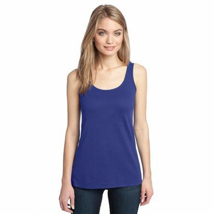 District Made Women's Tank Top: Modal Blend(DM481)