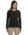 Ladies' 4.4 oz., 100% Organic Cotton Classic Long-Sleeve T-Shirt: (EC3500)