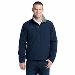 Eddie Bauer Men's Jacket: Three Season Fleece Lined (EB520)