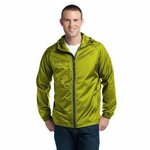 Eddie Bauer Men's Jacket: Packable Full-Zip Windbreaker with Hood (EB500)