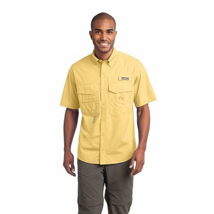 Eddie Bauer Men's Fishing Shirt: Short Sleeve (EB608)