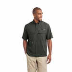 Eddie Bauer Men's Fishing Shirt: Short Sleeve Performance (EB602)