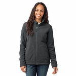 Eddie Bauer Women's Jacket: Fleece Full-Zip Wind Resistant (EB231)