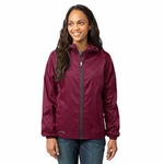 Eddie Bauer Women's Jacket: Packable Full-Zip Windbreaker with Hood (EB501)