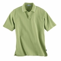 Edry® Men's Needle-Out Interlock Polo: (85067)