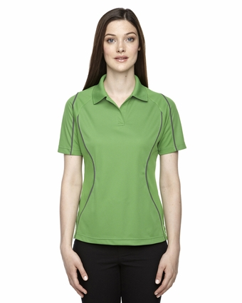 Eperformance™ Ladies' Velocity Snag Protection Colorblock Polo with Piping: (75107)