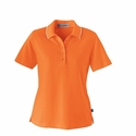 Edry® Ladies' Needle-Out Interlock Polo: (75045)