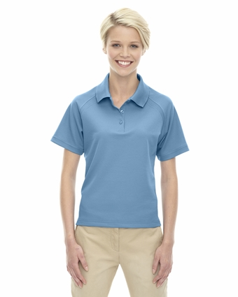 Eperformance™ Ladies' Ottoman Textured Polo: (75056)