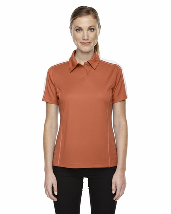 Eperformance™ Ladies' Piqué Colorblock Polo: (75052)