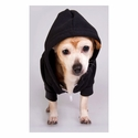 Flex Fleece Dog Zip Hoodie: (F997)