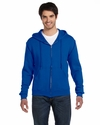 12 oz. Supercotton™ 70/30 Full-Zip Hood: (82230)