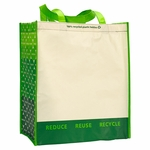 Laminated 100% Recycled Shopper: (1768)