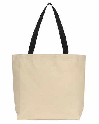 Colored Handle Tote: (220)