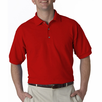 Ultra Cotton® 6.5 oz. Piqué Polo: (G380)