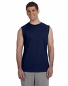 Ultra Cotton® 6 oz. Sleeveless T-Shirt: (G270)