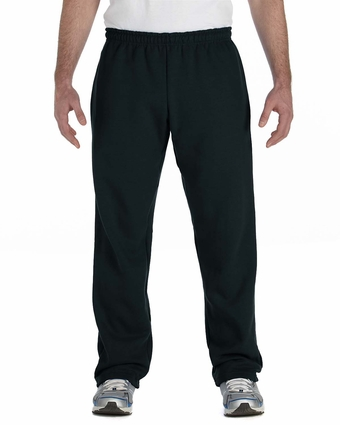 Heavy Blend™ 8 oz., 50/50 Open-Bottom Sweatpants: (G184)