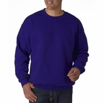DryBlend® 9.3 oz., 50/50 Fleece Crew: (G120)