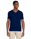 Softstyle® 4.5 oz. V-Neck T-Shirt: (G64V)