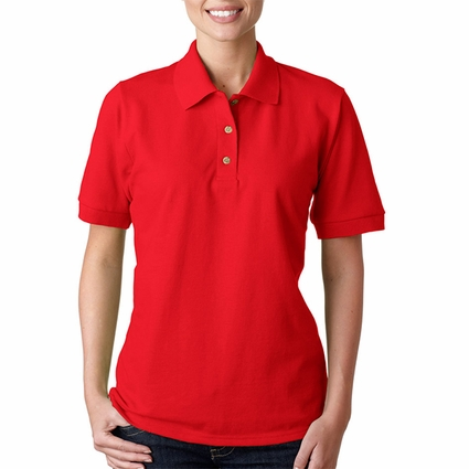 Ultra Cotton® Ladies' 6.5 oz. Piqué Polo: (G380L)