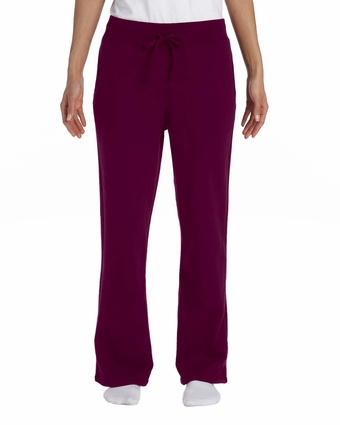 Heavy Blend™ Ladies' 8 oz., 50/50 Open-Bottom Sweatpants: (G184FL)