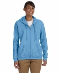 Heavy Blend™ Ladies' 8 oz., 50/50 Full-Zip Hood: (G186FL)