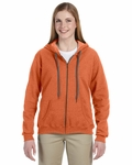 Heavy Blend™ Ladies' 8 oz. Vintage Classic Full-Zip Hood: (G187FL)