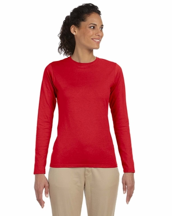 Softstyle® Ladies' 4.5 oz. Junior Fit Long-Sleeve T-Shirt: (G644L)