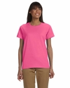 Ultra Cotton® Ladies' 6 oz. T-Shirt: (G200L)