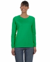 Heavy Cotton™ Ladies' 5.3 oz. Missy Fit Long-Sleeve T-Shirt: (G540L)