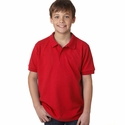 DryBlend® Youth 6.5 oz. Piqué Sport Shirt: (G948B)