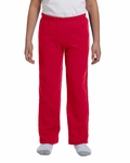 Heavy Blend™ Youth 8 oz., 50/50 Open-Bottom Sweatpants: (G184B)