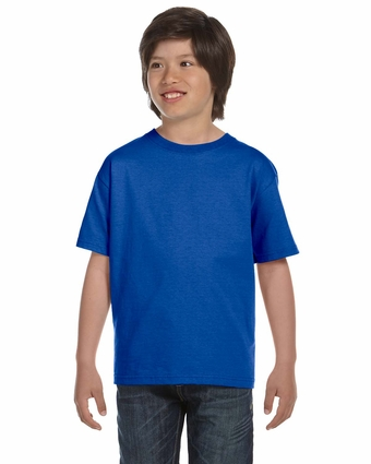 DryBlend® Youth 5.6 oz., 50/50 T-Shirt: (G800B)