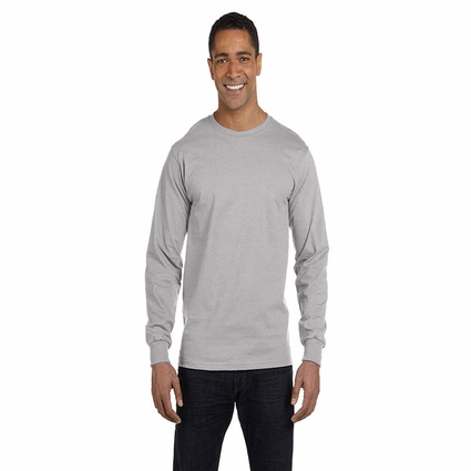 5.2 oz. ComfortSoft® Cotton Long-Sleeve T-Shirt: (5286)