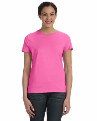 Ladies' 4.5 oz., 100% Ringspun Cotton nano-T® T-Shirt: (SL04)