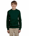 Youth 7.8 oz. ComfortBlend® EcoSmart® 50/50 Fleece Crew: (P360)