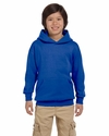 Youth 7.8 oz. ComfortBlend® EcoSmart® 50/50 Pullover Hood: (P473)