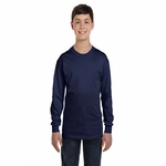 Youth 6.1 oz. Tagless® ComfortSoft® Long-Sleeve T-Shirt: (5546)
