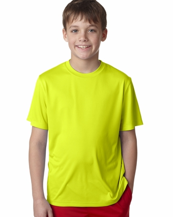 YOUTH 4 OZ COOL DRY SHORT SLEEVE TEE: (482Y)