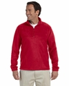 8 oz. Quarter-Zip Fleece Pullover: (M980)