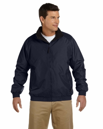 Fleece-Lined Nylon Jacket: (M740)