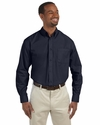 Men's Tall 3.1 oz. Essential Long-Sleeve Poplin: (M510T)